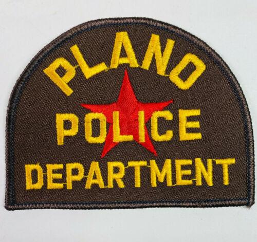 Plano Police Texas TX Patch A3