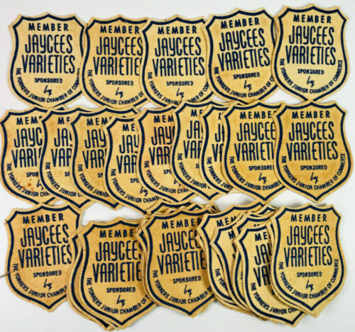 39 Jaycees Varieties Member Yonkers Junior Chamber of Commerce New York Patches