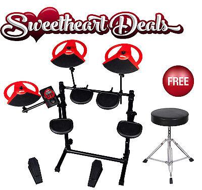 ddrum DDBETA Electronic Drum set kit 5 piece FREE throne! Free Shipping!