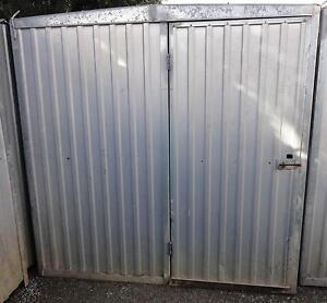 Builder's site store shed 2300x2070 with 3mm checker plate floor Port Adelaide Port Adelaide Area Preview