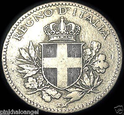 Kingdom of Italy - Italian 1919R 20 Centesimi Coin - World War 1 Coin