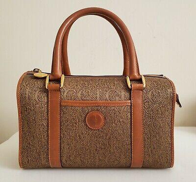 Gucci Satchel , vintage jacquard gold/brown rich earth tones