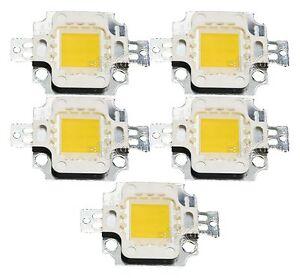 2PCS-10Watt-10W-9V-12V-High-Power-LED-900LM-Bulb-Warm-White-20000K-Lamp-Light