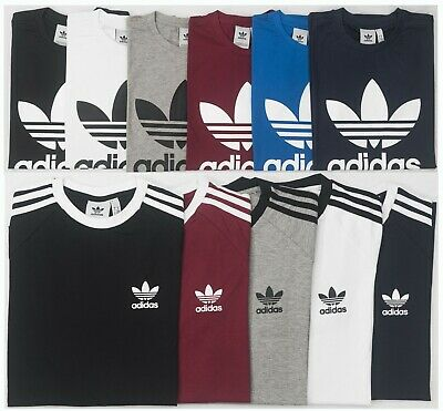 Adidas Originals California / Trefoil Short Sleeve Crew Neck Mens T-Shirt