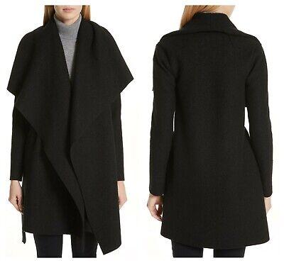 NEW! HARRIS WHARF LONDON Belted Blanket Coat (6/US, 40/IT)