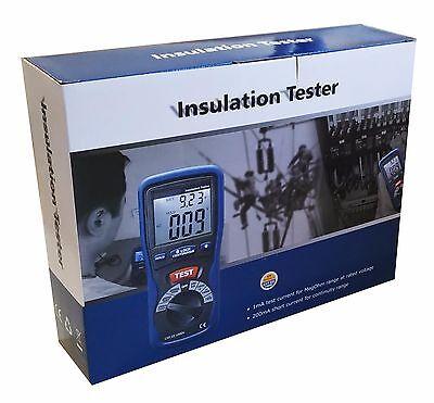 Dt-5500 Digital Insulation Tester High Voltage Cat Iii 1000v 2000 Mega Ohm Meter