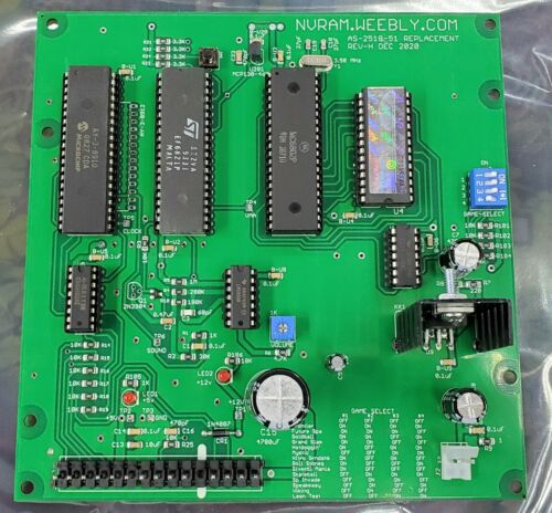 NEW Bally AS-2518-51 Replacement Sound Board -51
