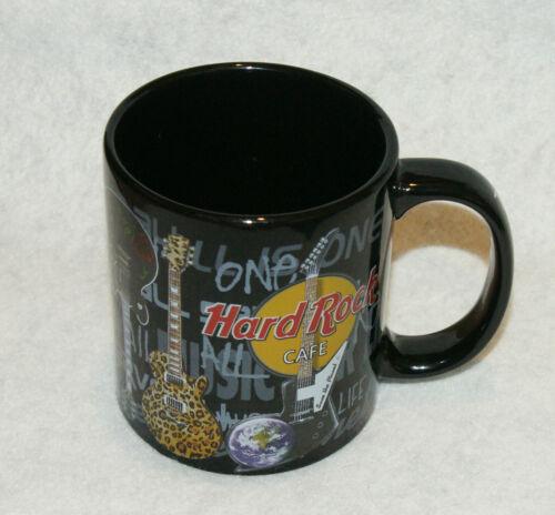 Hard Rock Cafe All Is One Large Coffee Mug KUWAIT