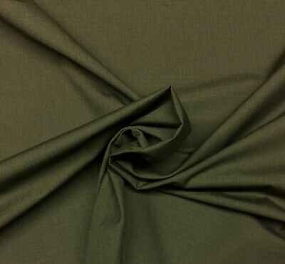 OLIVE DRAB GREEN MILITARY NY/CO RIPSTOP APPAREL NYLON COTTON DURABLE FABRIC - Military Olive Apparel