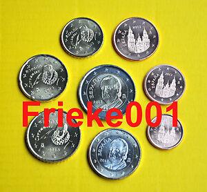 Spanje-Espagne-1-cent-tot-2-euro-2013-unc