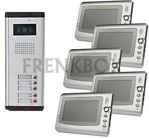 Kit Videocitofono Per  Appartamenti