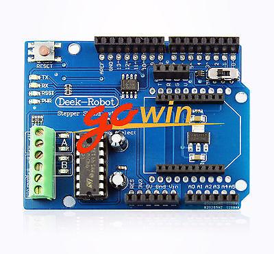 Motor Stepperservo Shield Xbee Wireless Proto Motor Shield For Arduino L1st