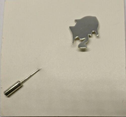 "Stick Pin of Sherlock Holmes Silver 2-1/2"""