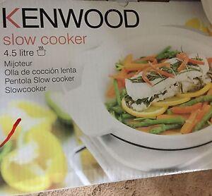 Kenwood 4.5lt slow cooker Springwood Logan Area Preview