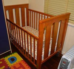 Mother's Choice cot with innerspring mattress Floreat Cambridge Area Preview