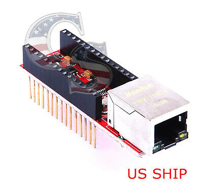 Enc28j60 10m Nano Ethernet Shield For Arduino Compatible Nano 3.0 Rj45 Webserver