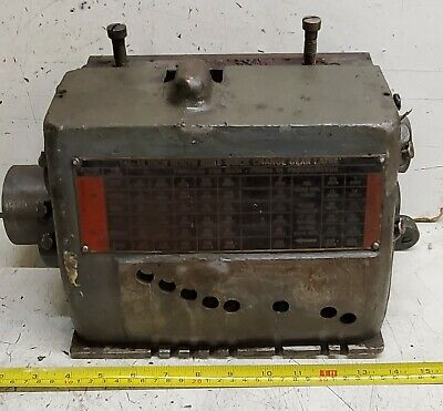 South Bend 16 Metal Lathe Single Tumbler Quick Change Gearbox Case Casting