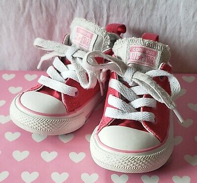 Converse All Star Toddler Girl's Pink Size 6 Single Tongue Low Shoes