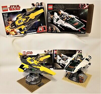 Lego Star Wars - 75248 A-Wing Starfighter - 75214 Anakin's Jedi Starfighter