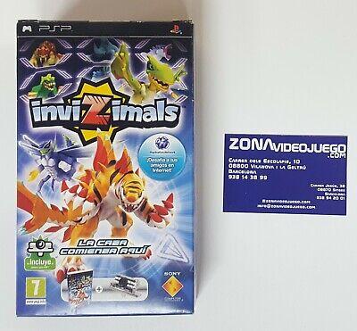 Invizimals + Cámara PSP, Sony PSP, PAL-ESP. Nuevo a estrenar.
