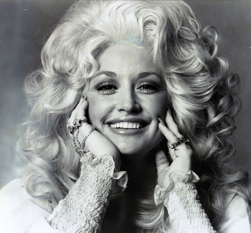 Dolly Parton Beautiful Illuminated Eyes 8x10 Photo Print