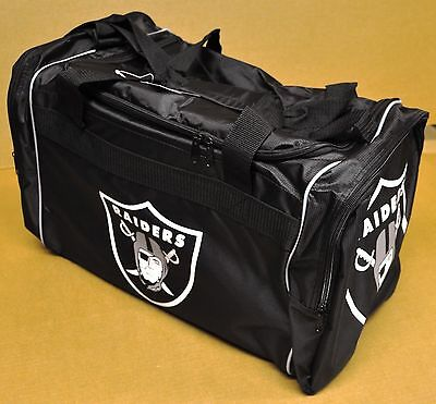 Oakland Raiders Duffle Bag Gym Swimming Carry On Travel Luggage Tote New