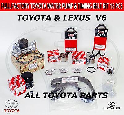GENUINE ALL TOYOTA TIMING BELT KIT 30 V6 1MZFE ENGINE CAMRY LEXUS ES300 RX300