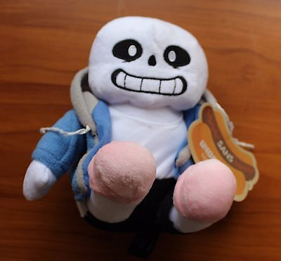 New Sans Undertale Video Game Merchandise Stuffed Skeleton Plush Figure Toy 10""