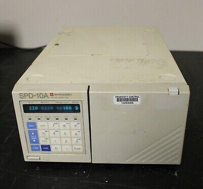 Shimadzu Spd-10a Hplc System Uv-vis Detector