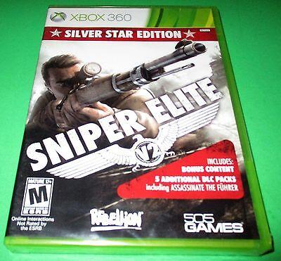 Sniper Elite V2 -- Silver Star Edition Microsoft Xbox 360 *New-Sealed-Free Ship! segunda mano  Embacar hacia Mexico