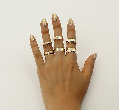 14K Solid Real Yellow Gold Classic Milgrain Wedding Band Ring Men & Women (Classic Milgrain Wedding Band)