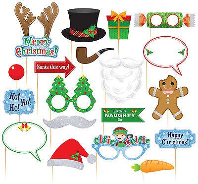 witzige Foto Bilder Requisite Weihnachtsfest Christmas XMAS Photo Booth Selfie