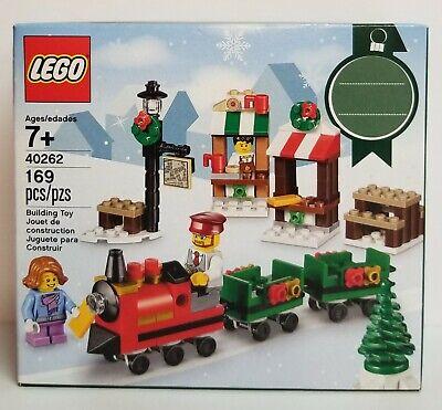 LEGO 40262 Seasonal CHRISTMAS TRAIN RIDE 169 pcs Age 7+ Brand NEW Retired