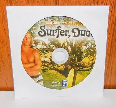 Surfer  Dude   Disc Only  Blu Ray
