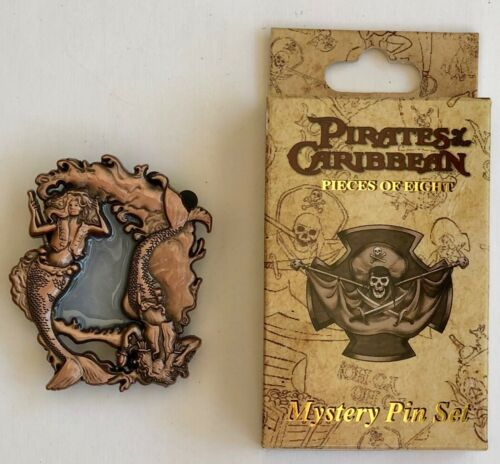 Pirates of the Caribbean Pieces of Eight Mystery Pin Mermaids LE 300 D23 2017