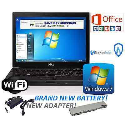 Dell Laptop Latitude Windows 7 Ultimate Microsoft Office 2013 Wifi   Hd Picture