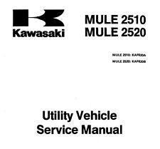 1994 1995 1996 1997 Kawasaki Mule 2500 2510 2520 Utility