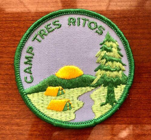 NOS BSA Camp Tres Ritos Boy Scouts Patch