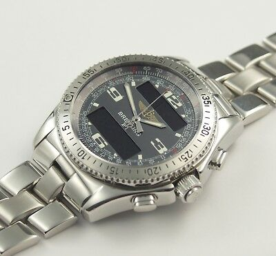 BREITLING B-1 / B-ONE MULTIFUNKTIONSUHR CHRONOMETER  REF. : A68362 PAPIERE/BOX