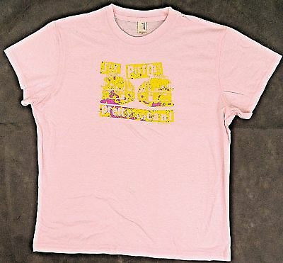 SEX PISTOLS T-shirt Retro Vacant Punk Rock Baby Doll Tee JUNIORS XL Pink New (Pink Junior Baby Doll T-shirts)
