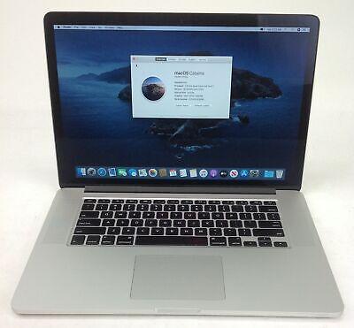 "Apple MacBook Pro 11,3 15"" i7 2.50GHz 16GB 500GB EMC2881 MGXC2LL/A U124635"