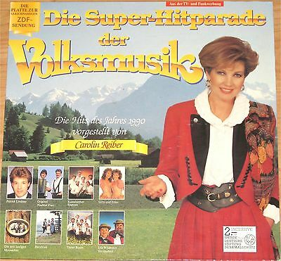VA, Die Super Hitparade der Volksmusik,  VG+/VG++  LP (7015)