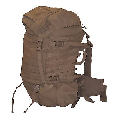USMC FILBE Coyote complete Main Back Pack rucksack field pack system Good 1