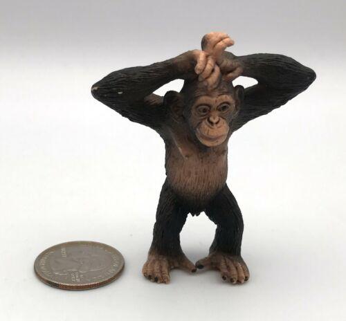 Schleich CHIMPANZEE JUVENILE Baby 2012 Animal figure Chimp Retired 14680