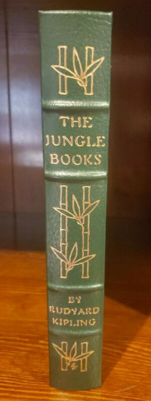 THE JUNGLE BOOKS Rudyard Kipling Easton Press Leather 1980  Collectors Edition
