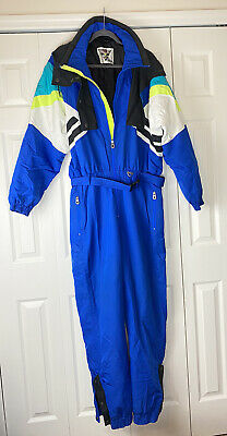 Vintage 1970/'s Cobalt Blue Hoody With Golden Yellow Trim Made in Germany by Helanoa. Good Condition