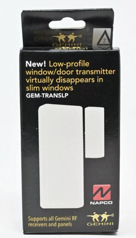 Napco GEM-TRANSLP Low Profile Wireless Window/Door Transmitter (A9)