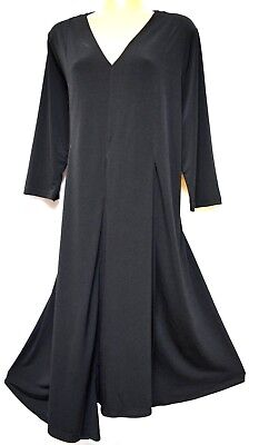 TS dress TAKING SHAPE plus sz XS / 14 'Siren' black layering stretch NWT rrp$120