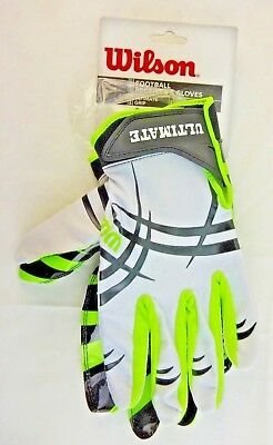 Wilson Football Ultimate Grip Receiver's Gloves, XLarge