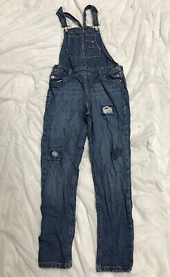 womens dungarees Size 6 UK Blue Denim Jordache